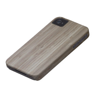 """faux bamboo"" iPhone4 Case-Mate ID CASE"