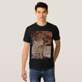 Fawn-coloured tee-shirt Cheetah Man Shirts