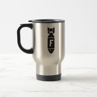FBOMB TACTICAL GEAR STAINLESS STEEL TRAVEL MUG