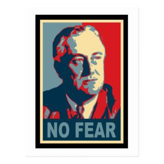 FDR No Fear Postcard