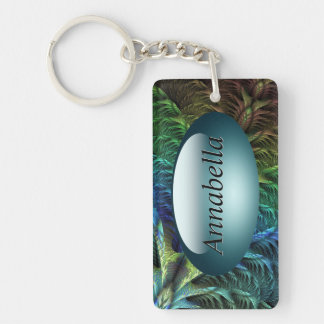 Feather tail Key Chain