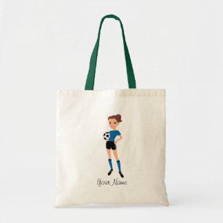 Female Soccer Illustrated Bags