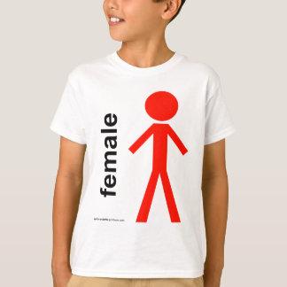 Female Stick Figure Shirt