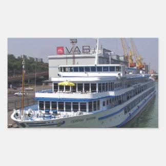 Ferry In Odessa Rectangular Sticker