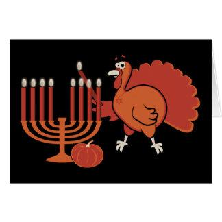 Festive 'Thanksgivukkah' Greeting Card