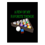 Few Of My Favourite Things Postcard