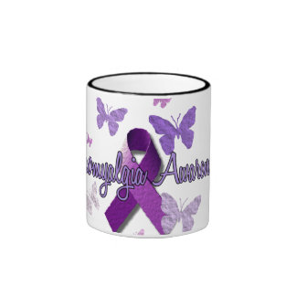 Fibromyalgia Awareness Ringer Mug
