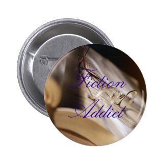 Fiction Addict 6 Cm Round Badge