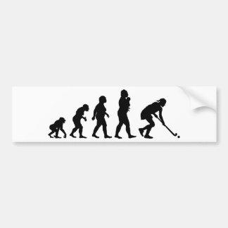 Field Hockey Bumper Sticker