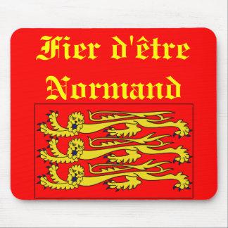 Fier d'être Normand Mouse Pad