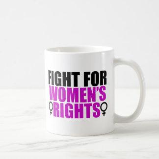 Fight for Women's Rights Basic White Mug