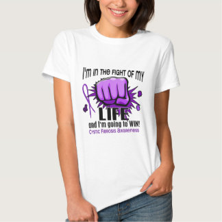 Fight Of My Life 2 Cystic Fibrosis Tee Shirt