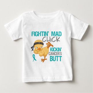 Fightin Chick Peritoneal Cancer Shirt