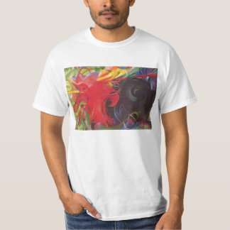 Fighting Forms (Kämpfende Formen) by Franz Marc T Shirts
