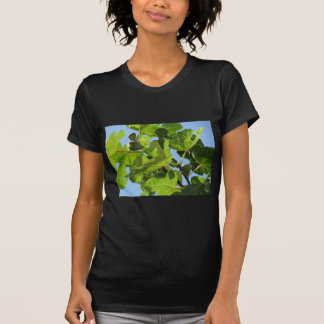 Figs on tree branches tshirts