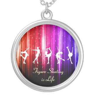 Figure Skating is Life - Rainbow Sparkle Necklace