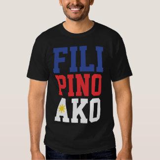 Filipino Ako (Front & Back) Shirts