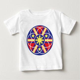 Filipino Flag Mandala T-shirt