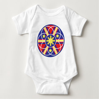 Filipino Flag Mandala Tee Shirt