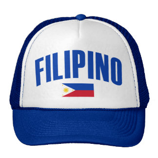 Filipino Philippine Flag Cap