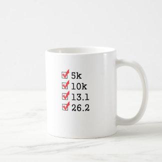 Finally ran the marathon basic white mug