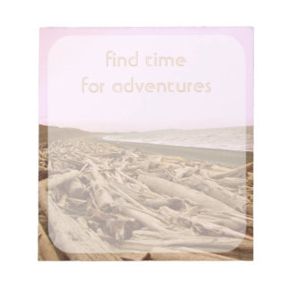Find Time For Adventures Notepads