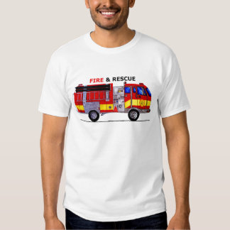 Fire and Rescue Tee Shirts