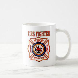FIRE FIGHTER BASIC WHITE MUG