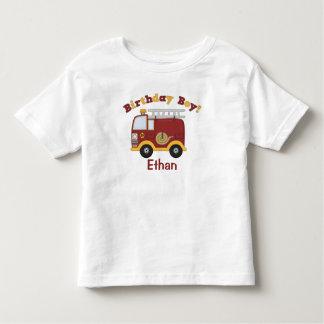 Fire Truck Birthday Kids Personalized T Shirt