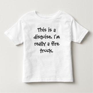 Fire Truck Costume Shirt
