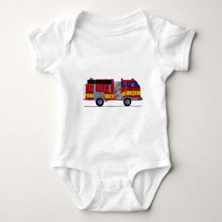 Fire Truck Fashions Infant Creeper