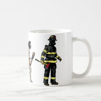Firefighter Basic White Mug
