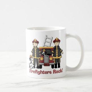 Firefighters Rock Basic White Mug