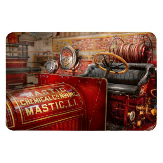 Fireman - Mastic chemical co Rectangular Photo Magnet