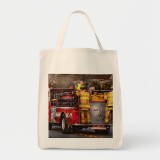Fireman - Metuchen Fire Department Grocery Tote Bag