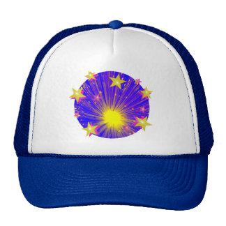 Firework trucker hat