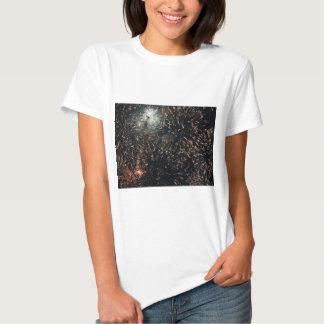 fireworks meteor splash big display tshirt