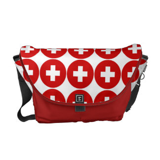 First aid medical doctor surgeon commuter bag