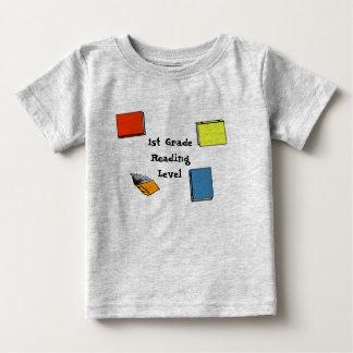First Grade Reading Level Tee Shirt