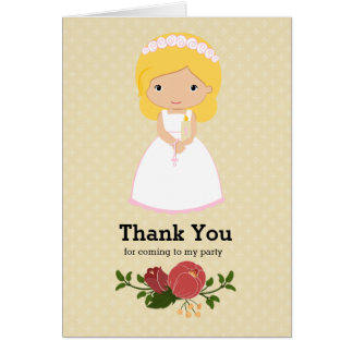 First Holy Communion * choose background color Greeting Card