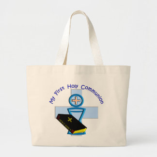 First Holy Communion Gifts for Kids Jumbo Tote Bag