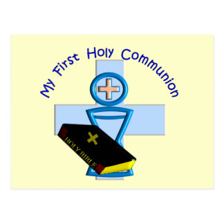 First Holy Communion Gifts for Kids Postcard