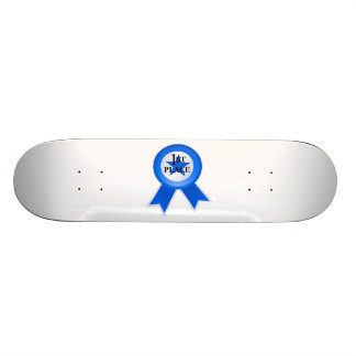 First Place Blue Ribbon Skate Board Deck