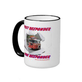 First Responder Fire Responder Mug