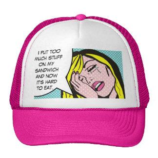 First World Problems Comic Book Trucker Hat