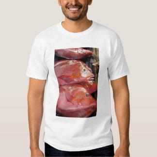 Fish at market, town of Kalabahi, Alor Island, T-shirt