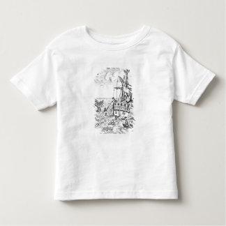 Fish Pool playing card Toddler T-Shirt