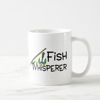 Fish Whisperer Basic White Mug