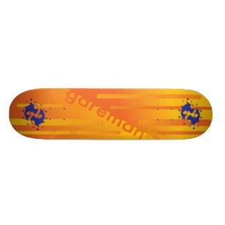 fishee five 21.6 cm skateboard deck