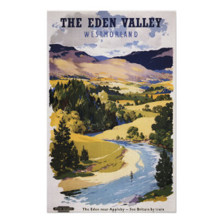 Fisherman in the Eden Valley Poster